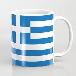 Flag of Greece Greek Coffee Mug