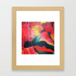 Fenêtre sur la campagne Framed Art Print