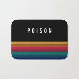 Poison Rainbow Bath Mat