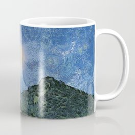 Starry Night Sunrise Coffee Mug