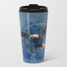 Eagle Moon Metal Travel Mug