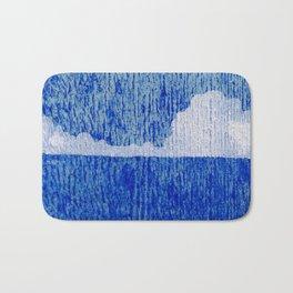 Blue Ocean Horizon Bath Mat