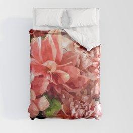 Beauty in Dahlia Comforters