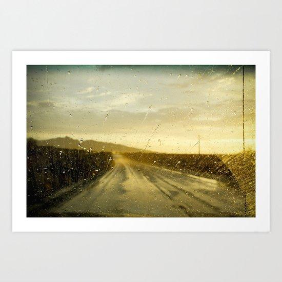 arizona (weather) Art Print