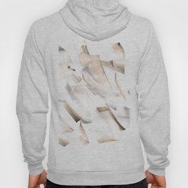 180630 Grey Black Neutral Brown Abstract Watercolour 18| Watercolor Brush Strokes Hoody