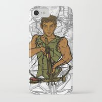 daryl iPhone & iPod Cases featuring Daryl by Aqua Ink Graphics