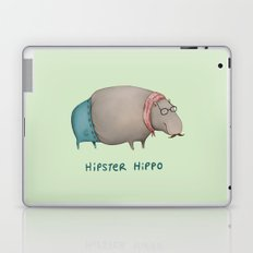 Hipster Hippo Laptop & iPad Skin