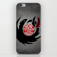 how to train your dragon iPhone & iPod Skins featuring How To Train Your Dragon (Hiccup's Shield) by KitsuneDesigns