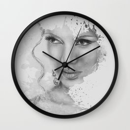 ...because of you Wall Clock