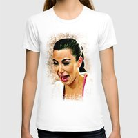 kardashian T-shirts featuring Funny Cute Ugly Crying face iPhone 4 4s 5 5c 6, pillow case, mugs and tshirt by Greenlight8