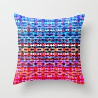 martini Throw Pillows featuring Martini by Ornaart