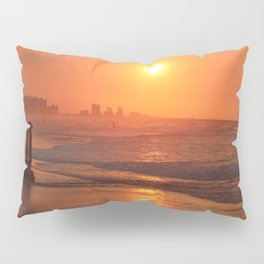 Myrtle Beach Fiery Sunrise Pillow Sham