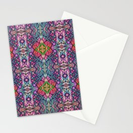 Fractal Art Stained Glass G311 Stationery Cards