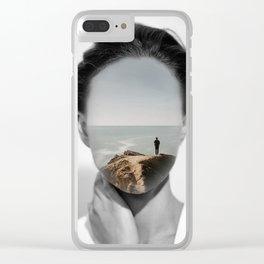 Silence 3 Clear iPhone Case