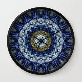 Flight of Swallows Mandala Wall Clock
