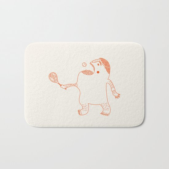 Game, Set and Munch Bath Mat