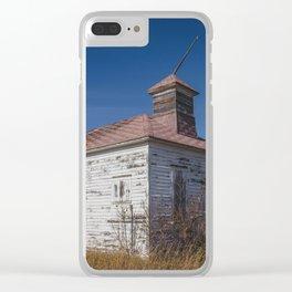 School House, Huff, North Dakota 2 Clear iPhone Case