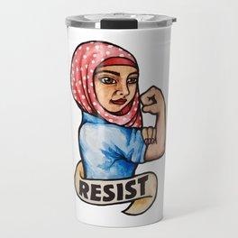 Resist rosie the riveter Travel Mug