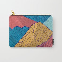 The Crosshatch Sky Carry-All Pouch