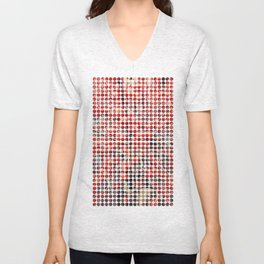 Red Berries Unisex V-Neck
