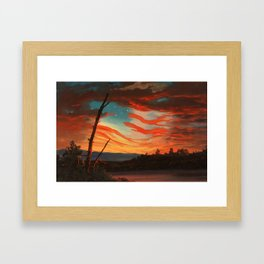 Our Banner In The Sky Framed Art Print