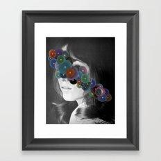 WOMAN 2/30 (2015) Framed Art Print