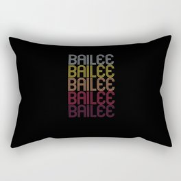 Bailee Name Gift Personalized First Name Rectangular Pillow