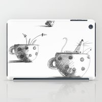 mouse iPad Cases featuring Mouse by Danelys Sidron