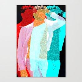 "three wise meN"" Canvas Print"