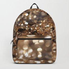Gold Night Lady Glitter #1 #shiny #decor #art #society6 Backpack