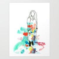 Grow - Frances Art Print