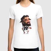 pirlo T-shirts featuring Minirobguns Pirlo by Robin Gundersen