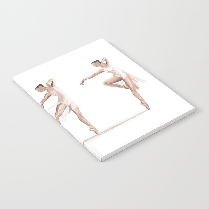Ballet Dance Moves Notebook