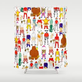Fast Food Butts Shower Curtain