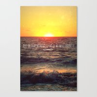 infinite Canvas Prints featuring Infinite by Oh, Good Gracious!