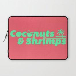 Coconuts & Shrimps Laptop Sleeve