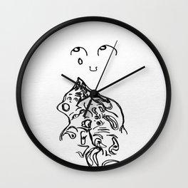 Inhuman. Wall Clock