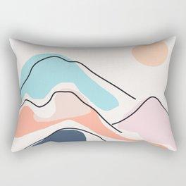 Minimalistic Landscape III Rectangular Pillow