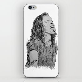 Harry Styles with tongue out iPhone Skin