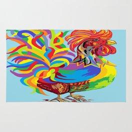 Fiesta Rooster Rug