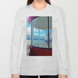 From the Lighthouse Balcony Long Sleeve T-shirt