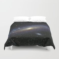 The Andromeda Galaxy Duvet Cover