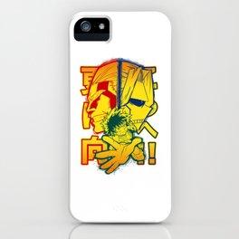 Plus Ultra Hero iPhone Case