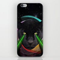 panther iPhone & iPod Skins featuring Panther by mark ashkenazi