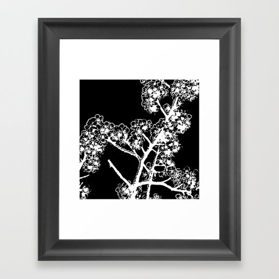 Cherry Blossom #4 Framed Art Print