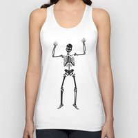 skeleton Tank Tops featuring Skeleton  by YUNG-GOD