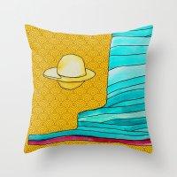 utah Throw Pillows featuring utah by worricow