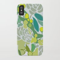 floral pattern iPhone & iPod Cases featuring floral pattern by frameless