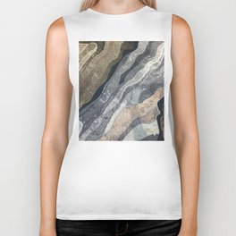 Abstract Color Patterns Biker Tank