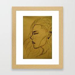 Shamaness Framed Art Print